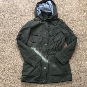NWOT Tommy Hilfiger green hooded jacket size M